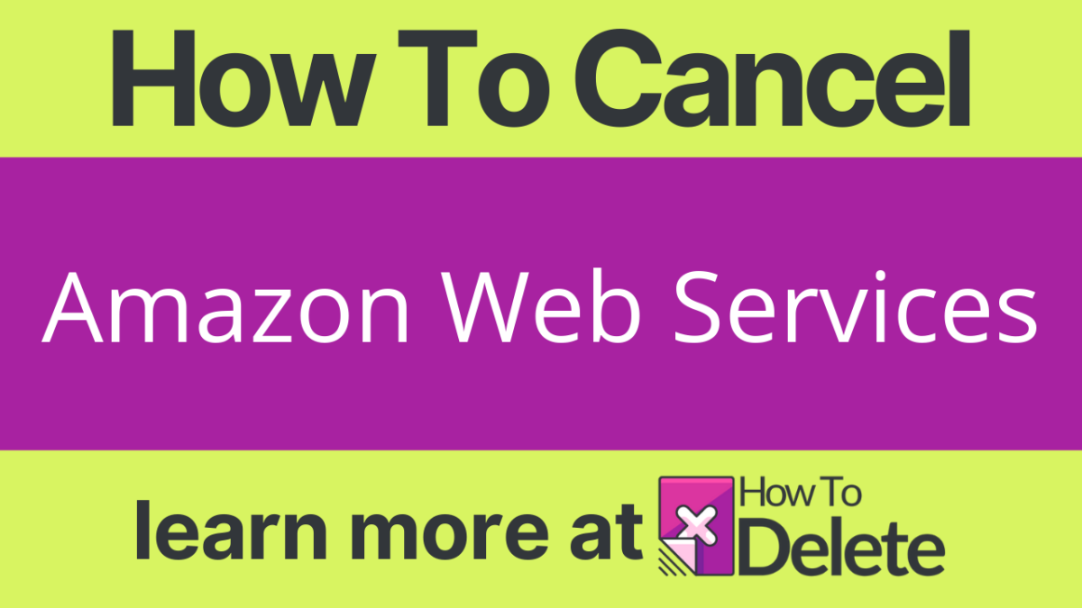 How to Cancel Amazon Web Services