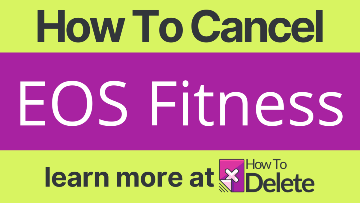How to Cancel EOS Fitness